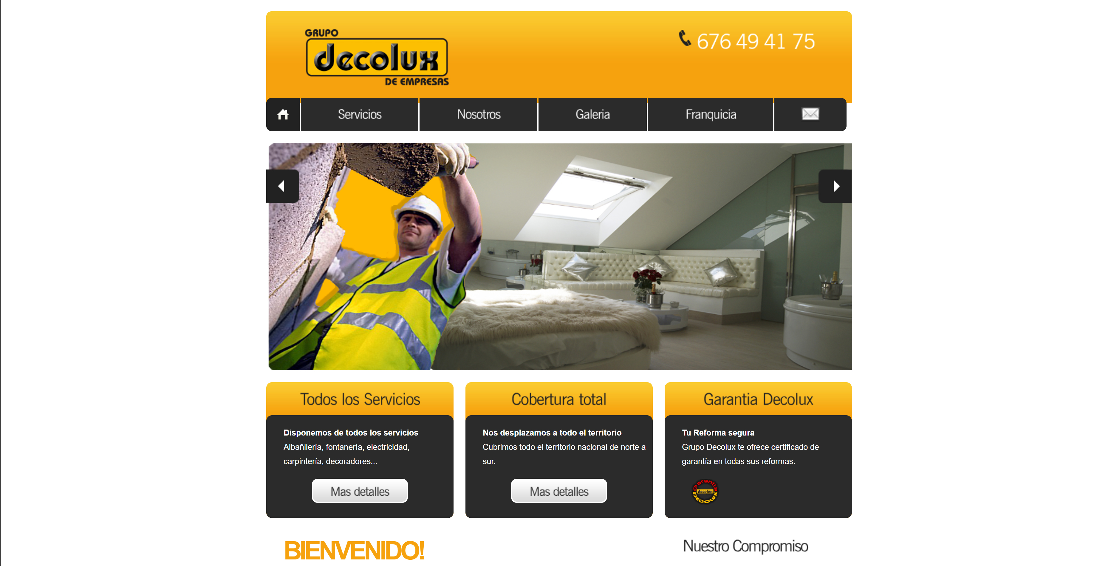 Website of Decolux