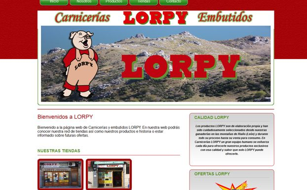 Corporate web of sausages Lorpy