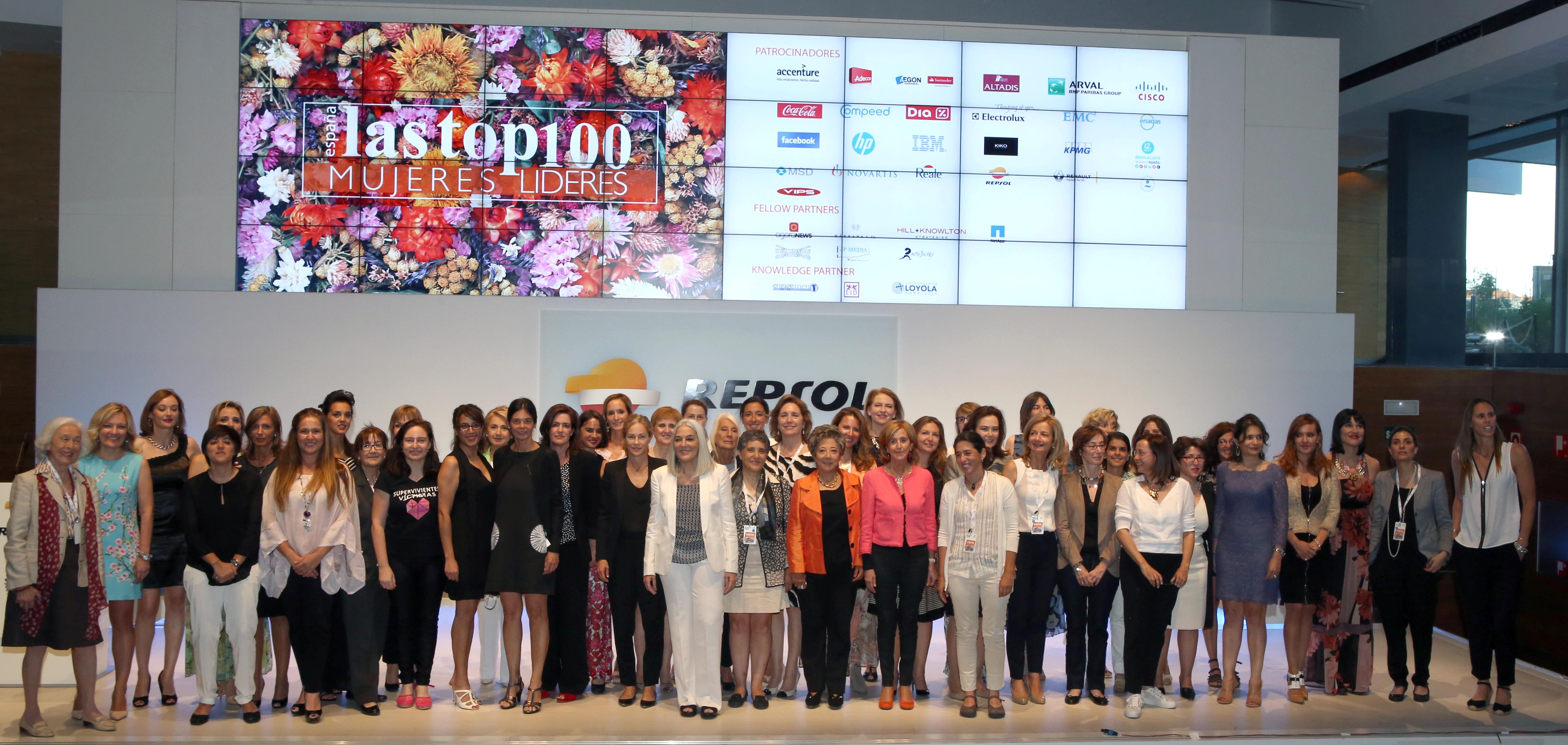 New call for the top 100 women leaders in Spain.